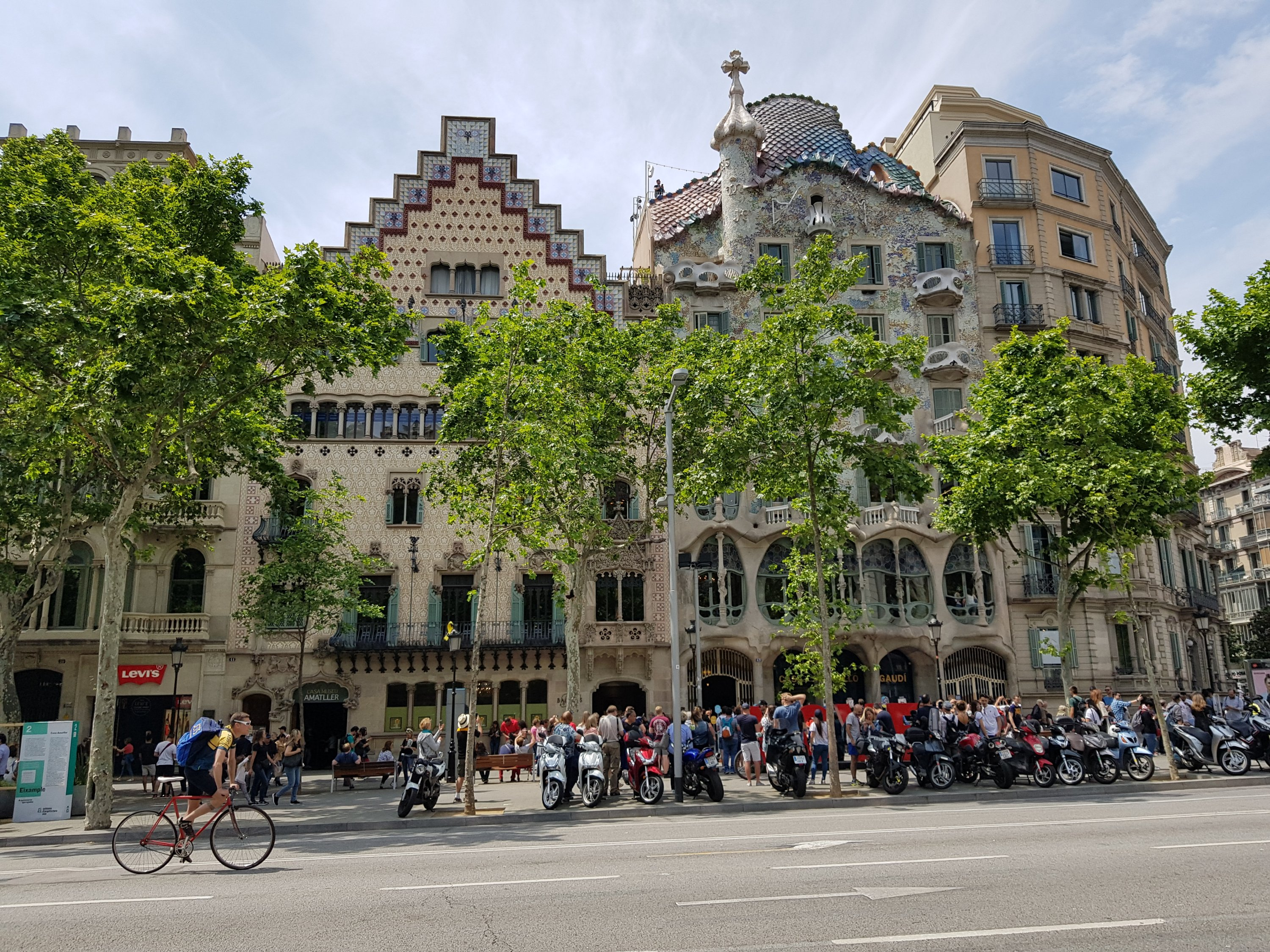 Gaudis Casa Battló in Barcelona