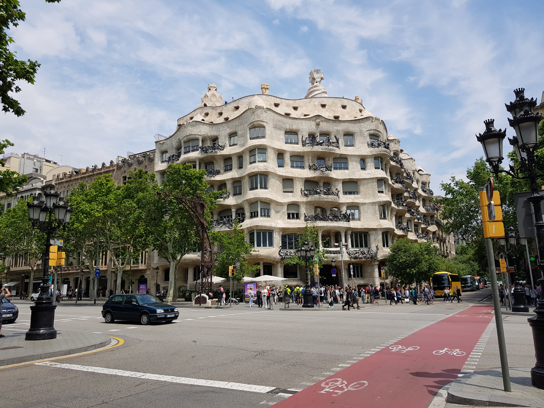Gaudis Casa Mila in Barcelona