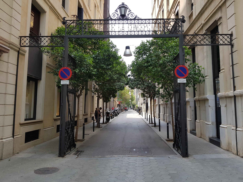 Gezellig straatje in Barcelona