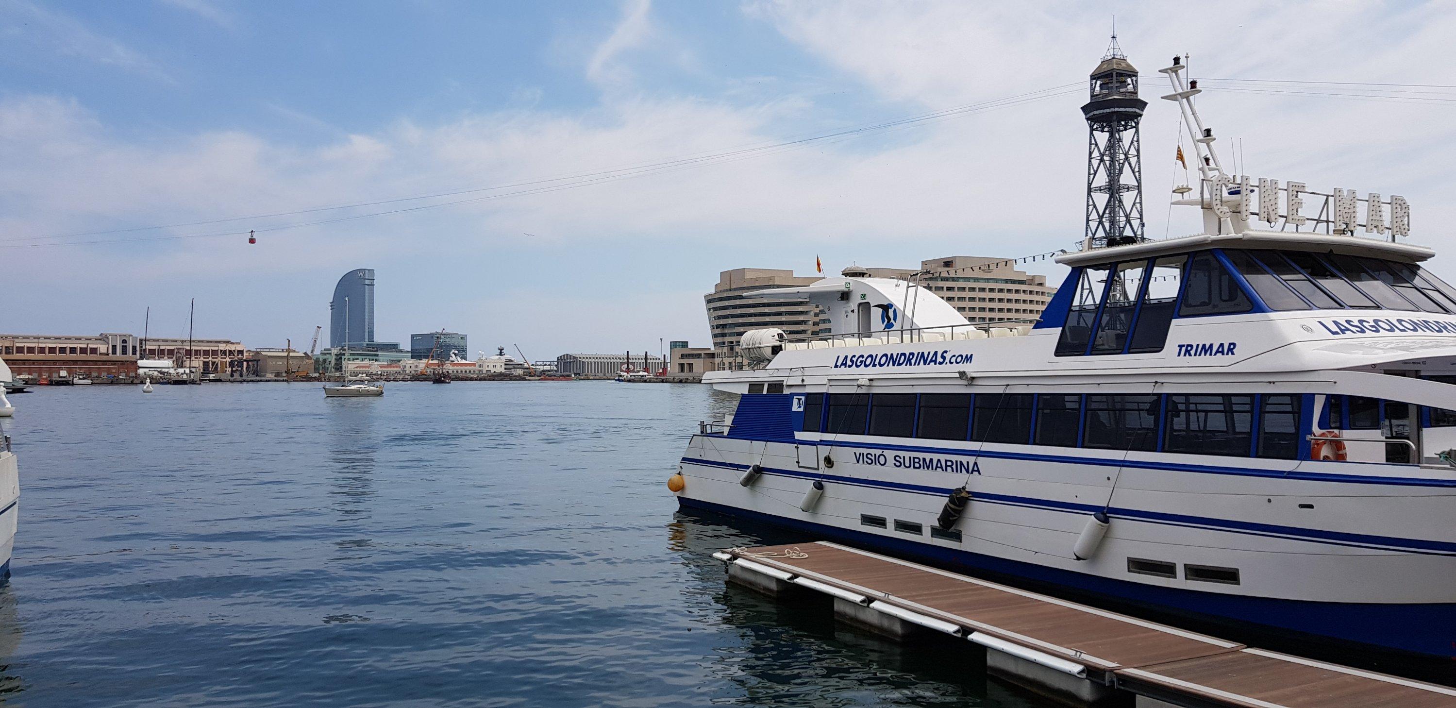 De haven van Barcelona