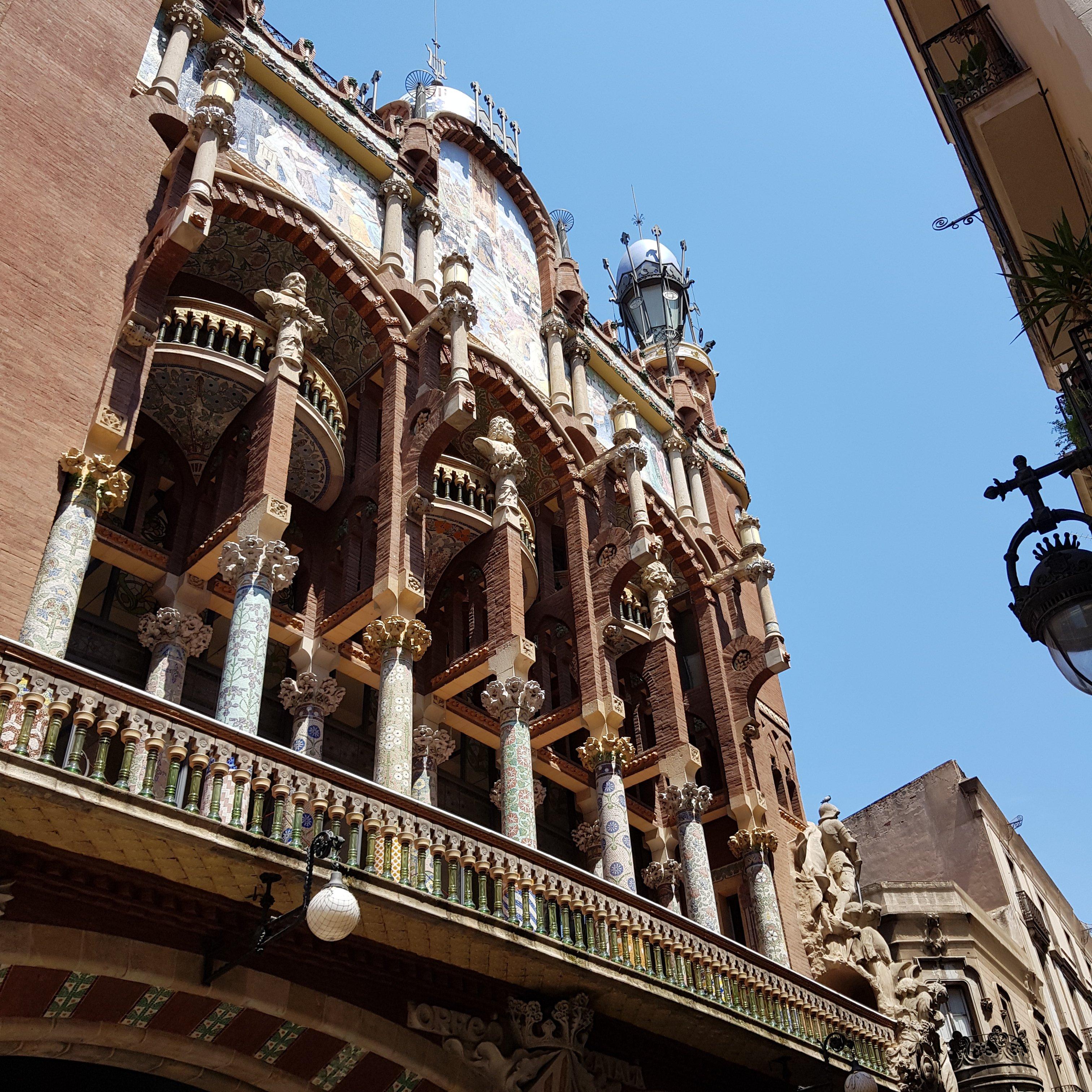Palau de la Música Catalana in Barcelona