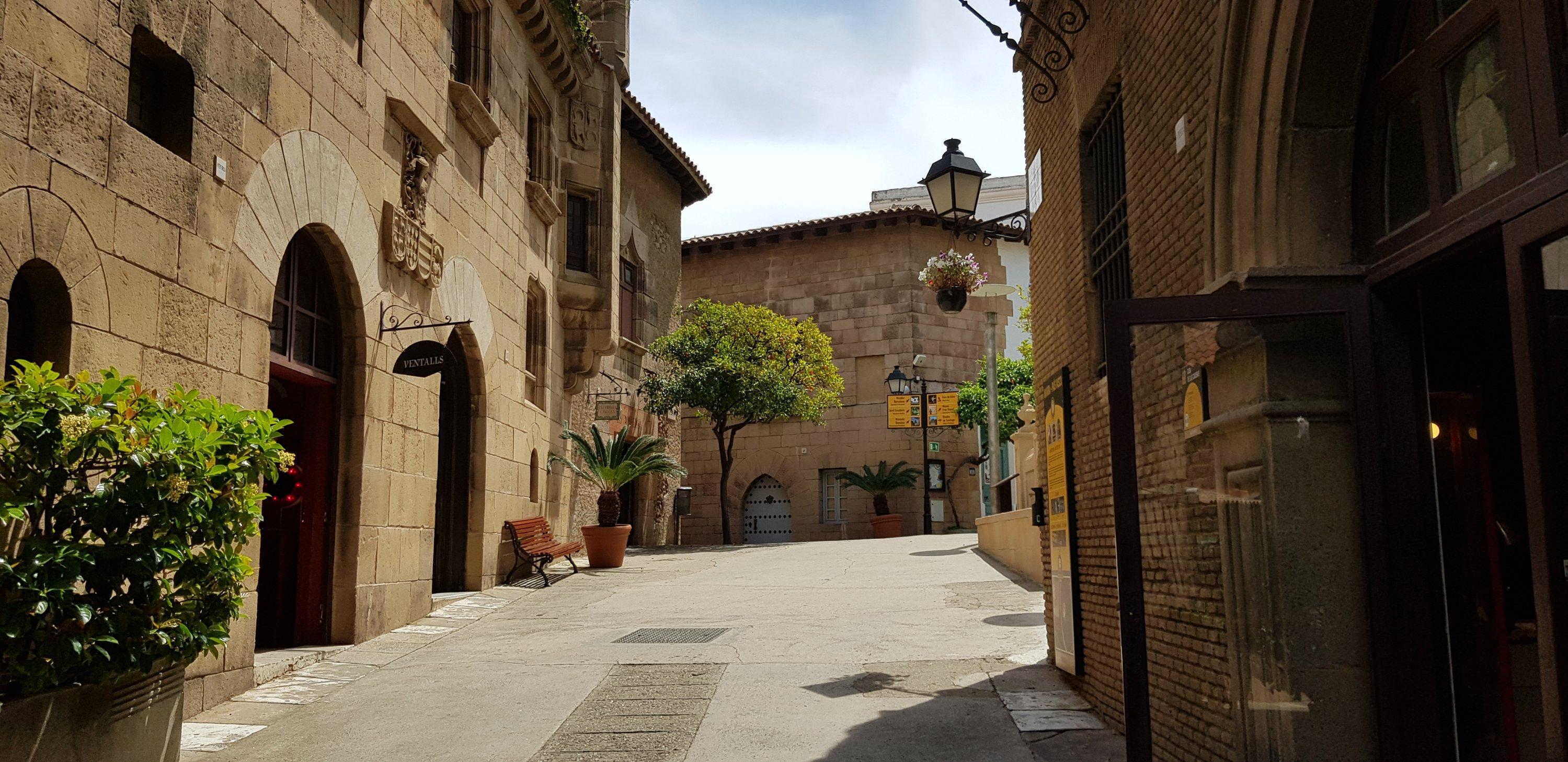Het Spaanse dorp in Barcelona