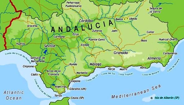 Andalusië, Spanje