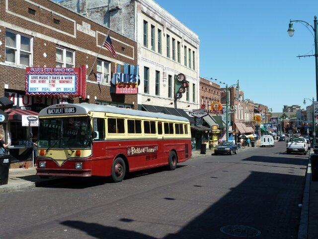 Beale Street, Memphis, Tennessee, Verenigde Staten