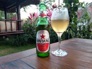 Bintang en Organic juice op Bali