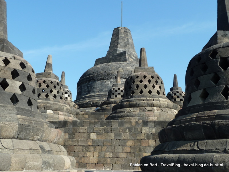 Borobudur, Java, Indonesië
