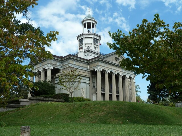 Courthouse Vicksburg, Mississippi, Verenigde Staten