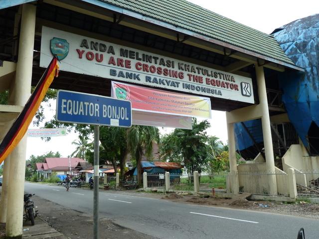 De Evenaar, Sumatra, Indonesië
