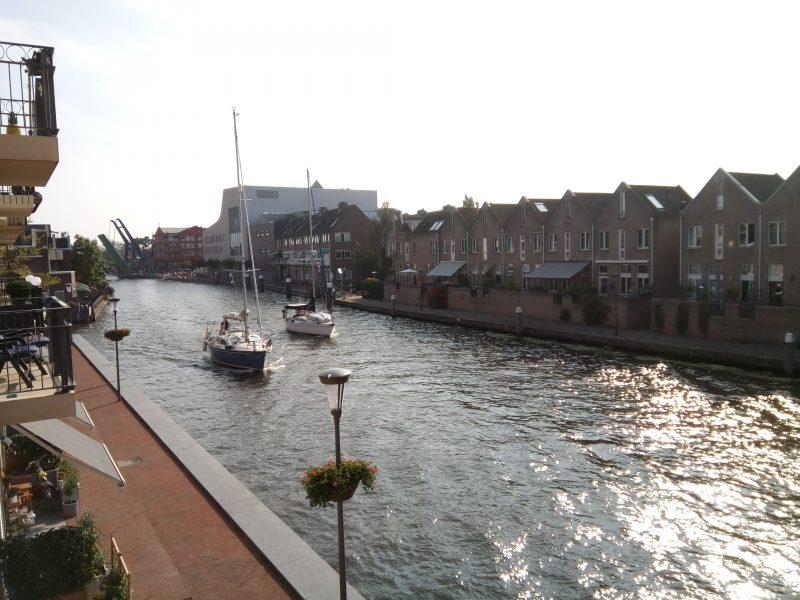 De Oude Rijn in Alphen aan den Rijn