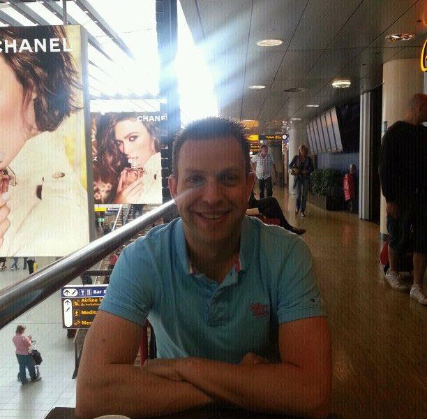 Fabian op Schiphol