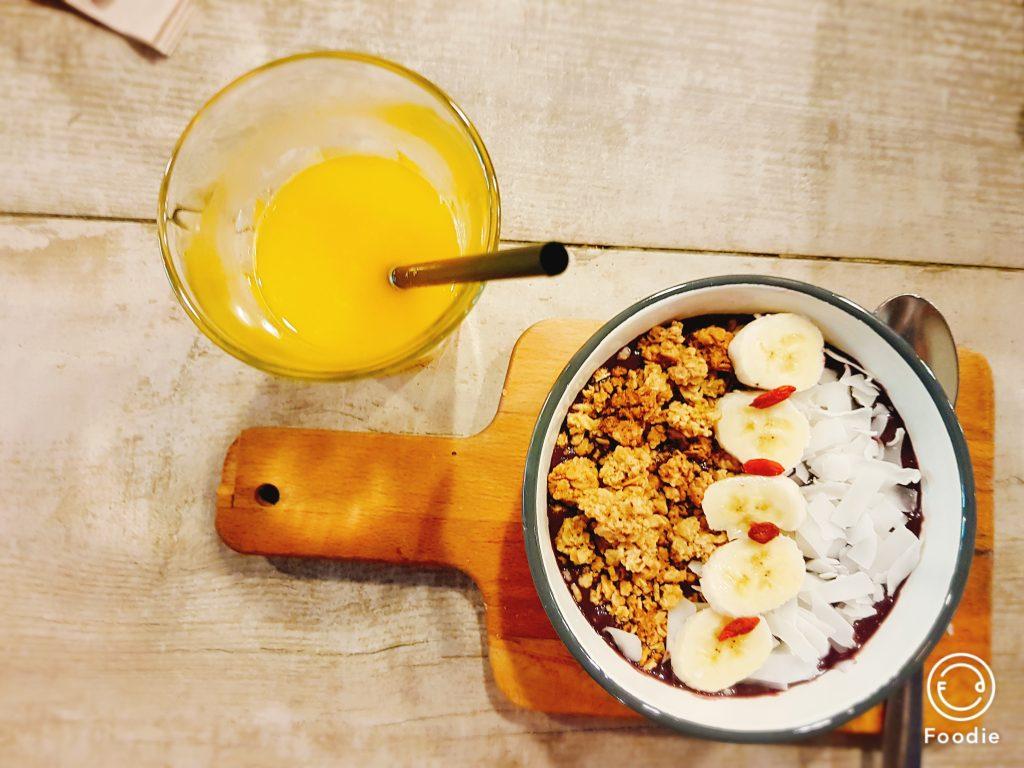 Gezond ontbijt bij Citizen Cafe in Barcelona