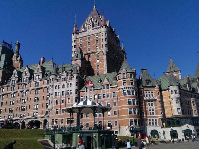 Het Château Frontenac hotel, Quebec, Canada