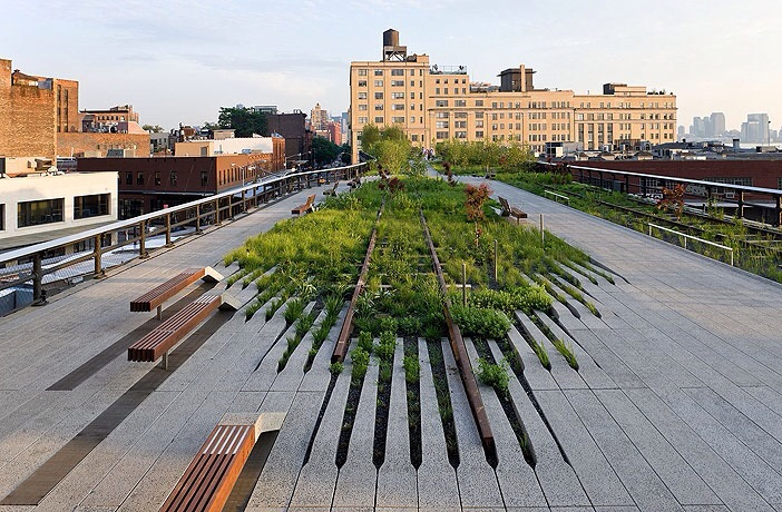 High Line, New York, Verenigde Staten