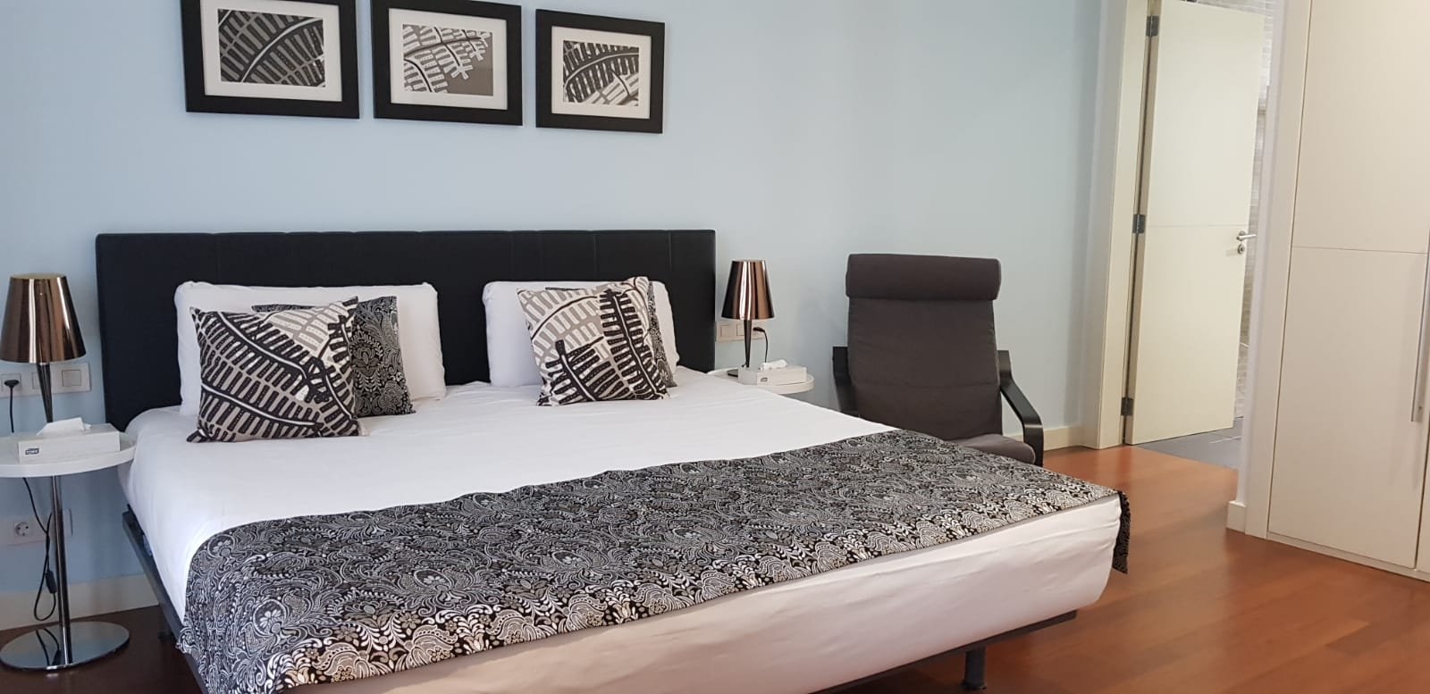Ons appartement in Barcelona