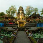 Pura Taman Saraswati op Bali