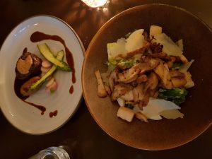 Restaurant Oker te Den Haag - Tournedos Rossini en Ceasar Salad
