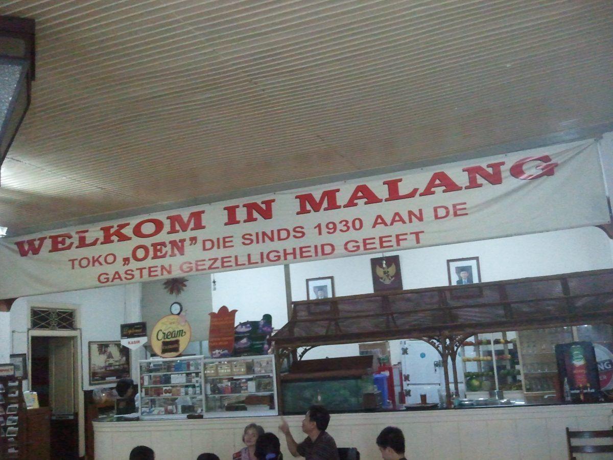 Toko Oen, Malang op Java