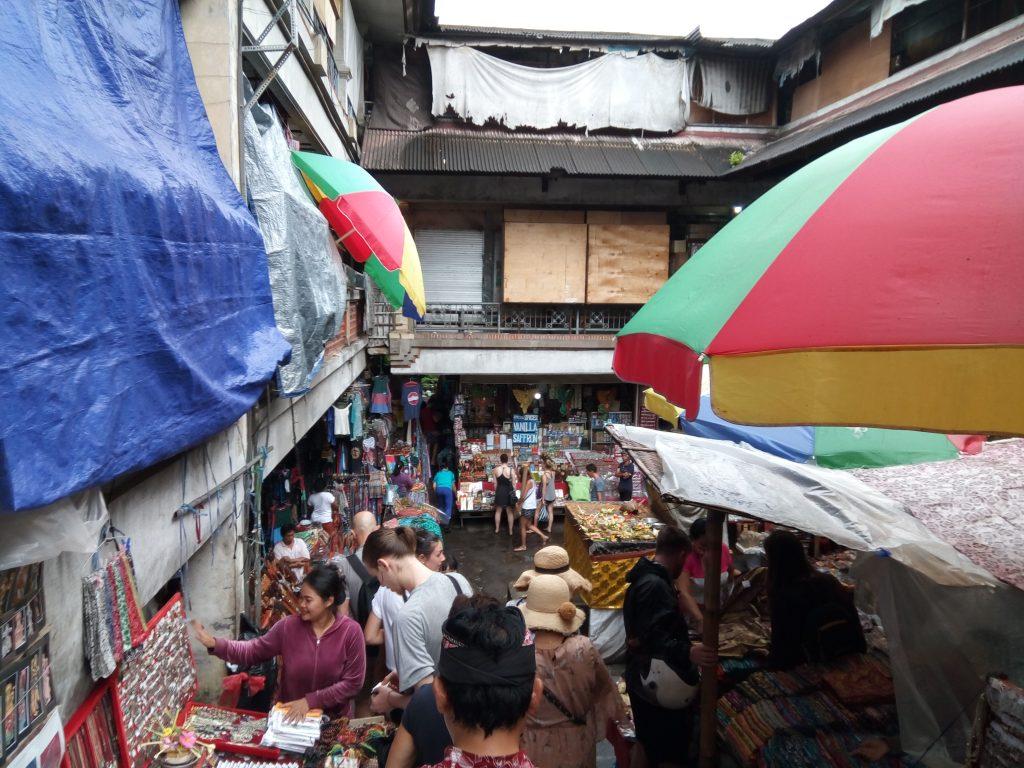 Ubud een deel van de Art Market