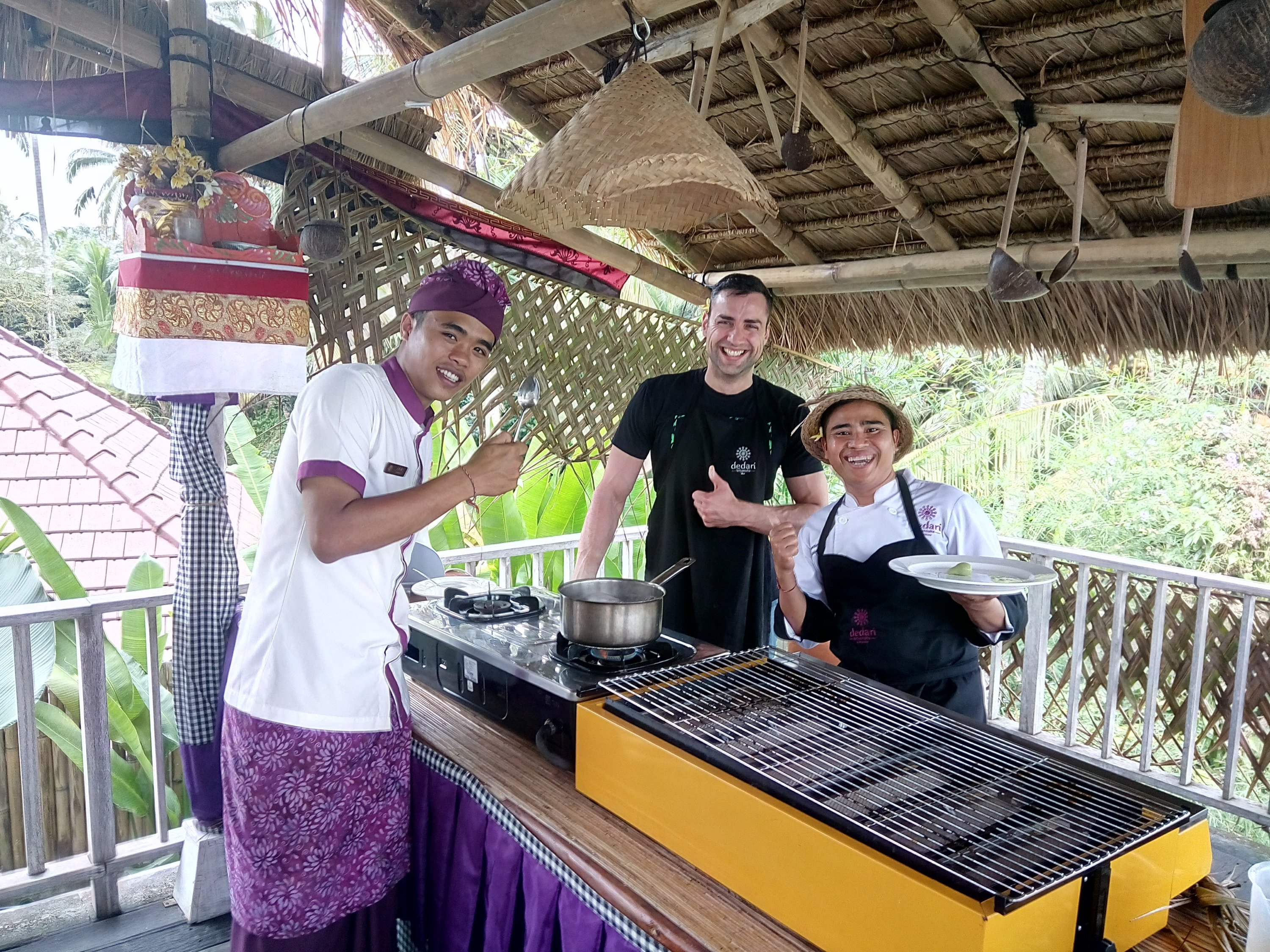 Cooking class in Villa Dedari Kriyamaha in Ubud