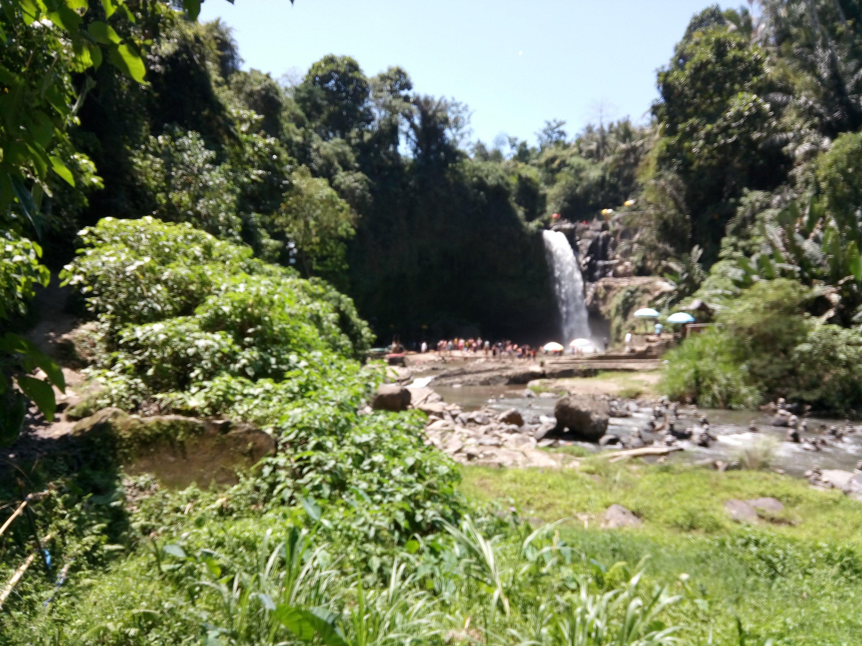 Tegenungan waterval op Bali