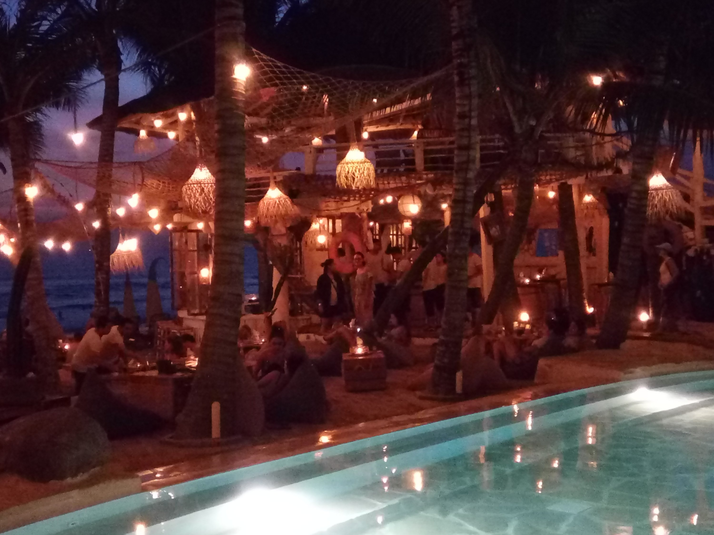 De beachclub La Brisa in Canggu, Bali